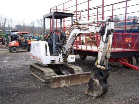 Bobcat 225 Mini Excavator Service Repair Manual Instant DOWNLOAD ( S/N 508312000 & Above )