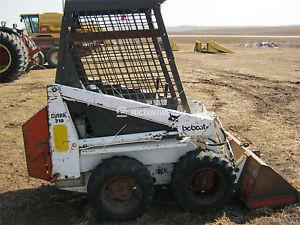Bobcat 310 313 Skid Steer Loader Service Repair Workshop Manual DOWNLOAD