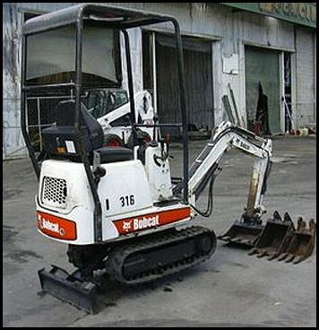 Bobcat 316 Mini Excavator Service Repair Manual DOWNLOAD ( S/N 522811001 & Above, S/N 522911001 & Above )