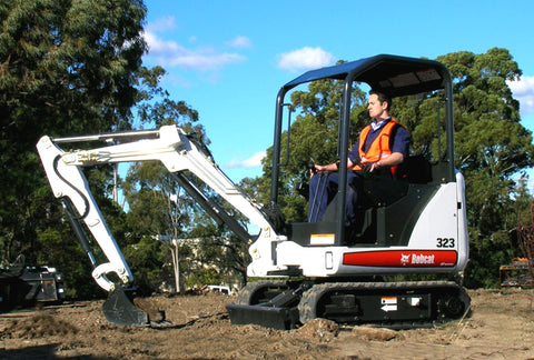 Bobcat 323 Compact Excavator Service Repair Workshop Manual DOWNLOAD ( S/N A9JZ11001 & Above )