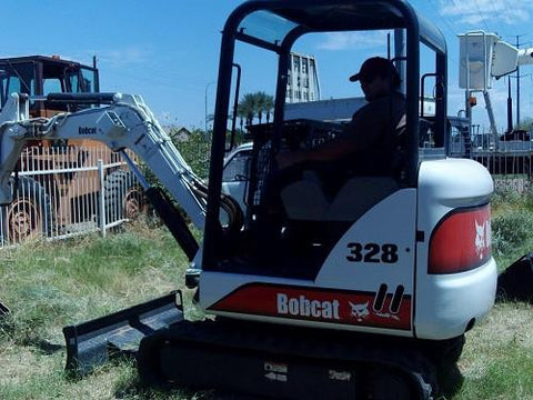 Bobcat 325, 328 Mini Excavator Service Repair Manual Instant DOWNLOAD ( S/N 232511001 & Above, S/N 232411001 & Above )