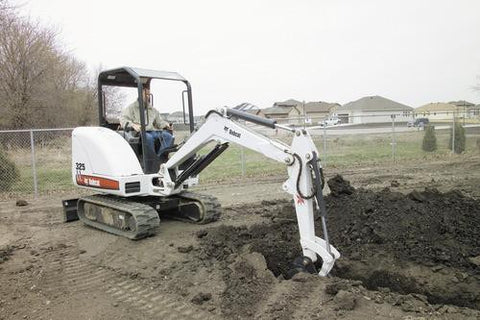 Bobcat 325 Compact Excavator Service Repair Factory Manual INSTANT DOWNLOAD * S/N 511820001 & Above