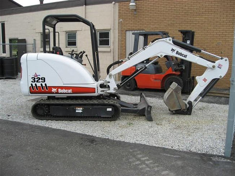 Bobcat 329 Mini Excavator Service Repair Manual Instant DOWNLOAD - A2PG11001 & Above