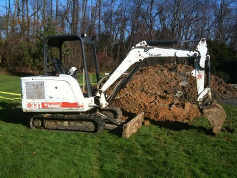 Bobcat 331 Compact Excavator Service Repair Workshop Manual DOWNLOAD(S/N 512911001-512912999)