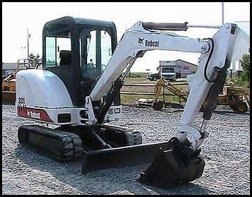 BOBCAT 331, 331E, 334 MINI EXCAVATOR OPERATION & MAINTENANCE MANUAL