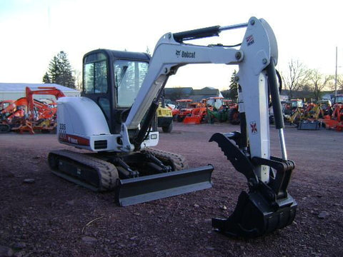 Bobcat 335 Mini Excavator Service Repair Manual Instant DOWNLOAD - A16U11001 & Above