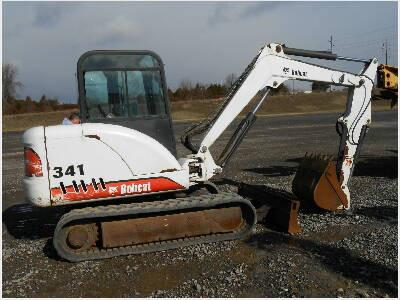 Bobcat 337, 341 Mini Excavator Service Repair Manual Instant DOWNLOAD - 233311001 & Above, 233211001 & Above