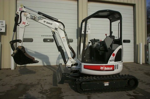 Bobcat 425 Compact Excavator Service Repair Workshop Manual Instant DOWNLOAD(S/N A1HW11001 & Above)