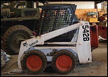 Bobcat 542B Skid Steer Loader Service Repair Workshop Manual INSTANT DOWNLOAD