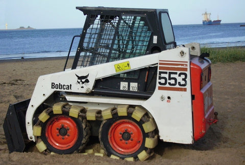 Bobcat 553 Skid Steer Loader Service Repair Manual INSTANT DOWNLOAD ( S/N 513011001 & Above, Europe Only S/N 513031001 & Above )
