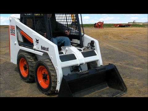 Bobcat 553 Skid Steer Loader Service Repair Manual INSTANT DOWNLOAD ( S/N 520311001 & Above, S/N 520411001 & Above )