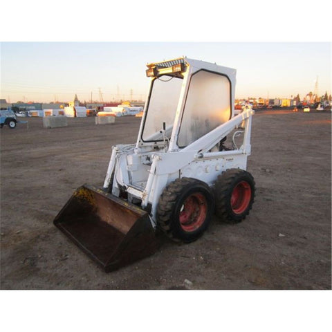 Bobcat 600, 600D, 610, 611 Skid Steer Loader Service Repair Workshop Manual INSTANT DOWNLOAD