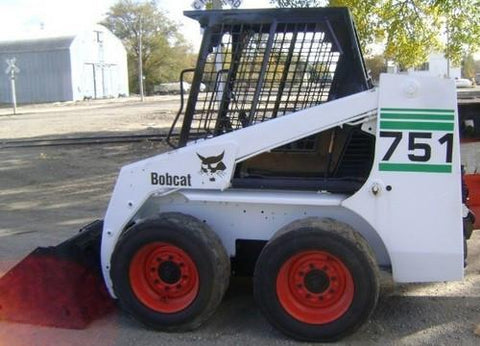 Bobcat 751 Skid Steer Loader Service Repair Manual INSTANT DOWNLOAD - 514711001 & Above, 514911001 & Above