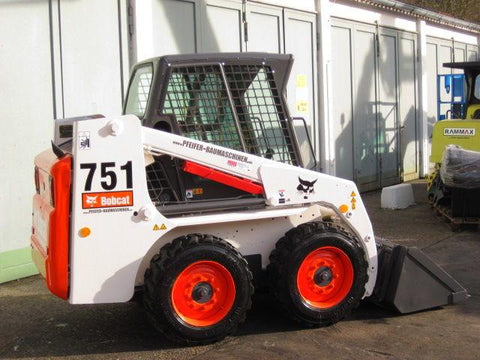 Bobcat 751 Skid Steer Loader Service Repair Manual INSTANT DOWNLOAD ( S/N 515730001 & Above, S/N 515620001 & Above )
