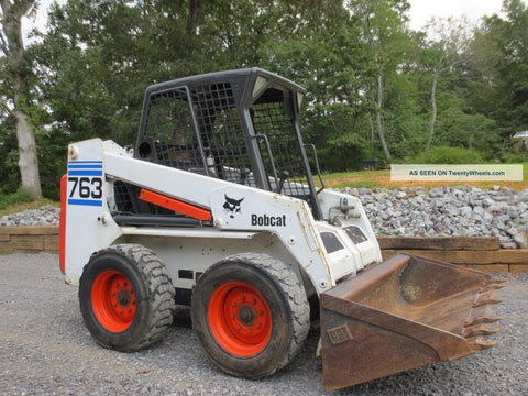 Bobcat 763 Skid Steer Loader Service Repair Manual INSTANT DOWNLOAD - 512212001-512249999, 512440001-512449999, 512612001-512619999