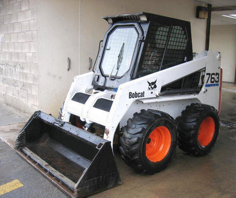 Bobcat 763 Skid Steer Loader Service Repair Workshop Manual INSTANT DOWNLOAD( S/N 512250001 & Above, S/N 512450001 & Above, S/N 512620001 & Above )