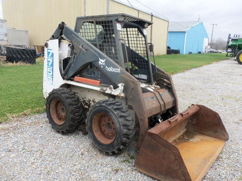 Bobcat 7753 Skid Steer Loader Service Repair Workshop Manual INSTANT DOWNLOAD