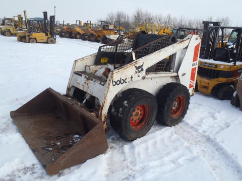 Bobcat 843 Skid Steer Loader Service Repair Manual INSTANT DOWNLOAD