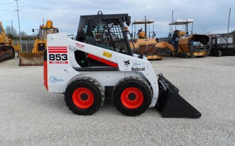 Bobcat 853 853H Skid Steer Loader Service Repair Workshop Manual INSTANT DOWNLOAD