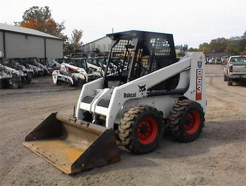 Bobcat 863 Skid Steer Loader Service Repair Workshop Manual INSTANT DOWNLOAD ( S/N 514425001 & Above, S/N 514525001 & Above, S/N 514625001 & Above )