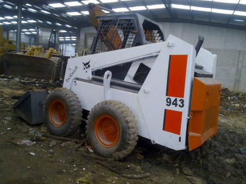Bobcat 943 Skid Steer Loader Service Repair Workshop Manual INSTANT DOWNLOAD