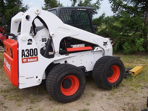 Bobcat A300 All Wheel Steer Loader Service Repair Manual INSTANT DOWNLOAD - 539911001 & Above, 540011001 & Above