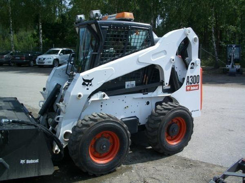 Bobcat A300 All Wheel Steer Loader Service Repair Workshop Manual INSTANT DOWNLOAD( S/N 521111001 & Above )