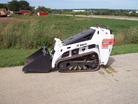 Bobcat MT52 MT55 Compact Track Loader Service Repair Workshop Manual INSTANT DOWNLOAD( S/N A3WR11001 & Above, S/N A3WT11001 & Above, S/N A3WS11001 & Above, S/N A3WU11001 & Above )