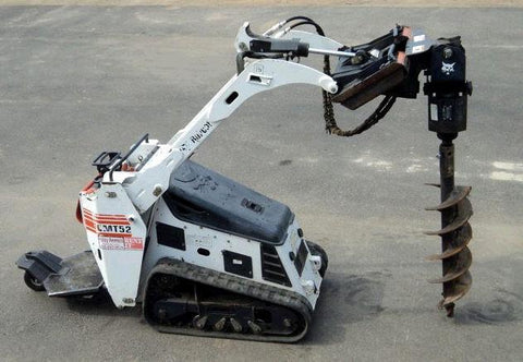 Bobcat MT52 MT55 Mini Track Loader Service Repair Manual INSTANT DOWNLOAD - 528711001 & Above, 528811001 & Above, 538711001 & Above, 538811001 & Above