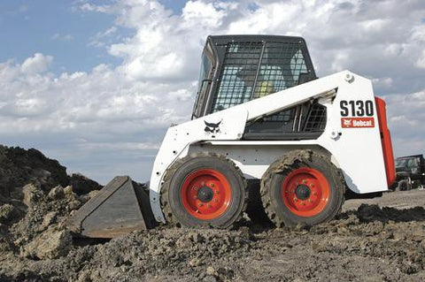 Bobcat S130 Skid Steer Loader Service Repair Manual INSTANT DOWNLOAD - 524611001 & Above, 524711001 & Above