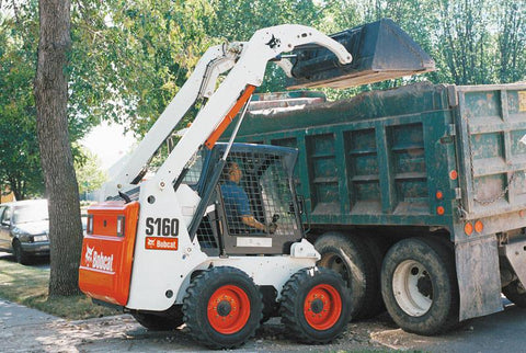 Bobcat S150, S160 Skid Steer Loader Service Repair Manual INSTANT DOWNLOAD - 523811001 & Above, 523911001 & Above, 524011001 & Above, 524111001 & Above