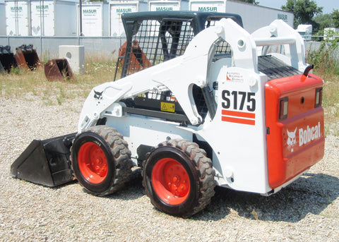 Bobcat S175 Skid Steer Loader Service Repair Manual INSTANT DOWNLOAD ( S/N A3L520001 & Above )