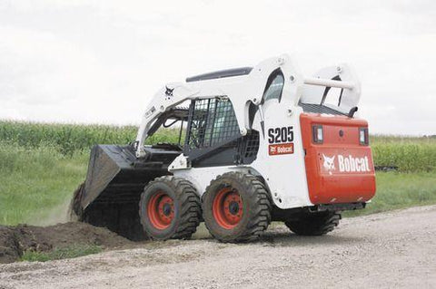 Bobcat S205 Skid Steer Loader Service Repair Manual INSTANT DOWNLOAD - 528411001 & Above, 528511001 & Above