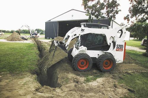Bobcat S205 Skid Steer Loader Service Repair Manual INSTANT DOWNLOAD - A3LJ11001 & Above, A3LK11001 & Above