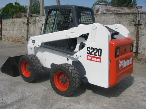 Bobcat S220 Skid Steer Loader Service Repair Workshop Manual INSTANT DOWNLOAD ( S/N A5GK20001 & Above, S/N A5GL20001 & Above )