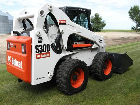 Bobcat S250, S300 Skid Steer Loader Service Repair Manual INSTANT DOWNLOAD - 521311001 & Above, 521411001 & Above, 521511001 & Above, 521611001 & Above
