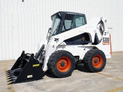 Bobcat S250, S300 Skid Steer Loader Service Repair Manual INSTANT DOWNLOAD - A5GM11001-A5GM19999, A5GN11001-A5GN19999, A5GP11001-A5GP19999, A5GR11001-A5GR19999