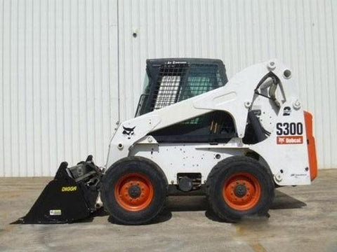 Bobcat S250, S300 Skid Steer Loader Service Repair Manual INSTANT DOWNLOAD - A5GM20001 & Above, A5GN20001 & Above, A5GP20001 & Above, A5GR20001 & Above
