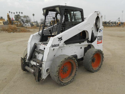 Bobcat S250, S300 Skid Steer Loader Service Repair Workshop Manual INSTANT DOWNLOAD ( S/N 526011001 & Above, S/N 526111001 & Above, S/N 525811001 & Above, S/N 525911001 & Above )
