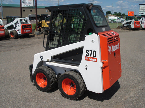 Bobcat S70 Skid Steer Loader Service Repair Manual INSTANT DOWNLOAD - A3W611001 & Above, A3W711001 & Above