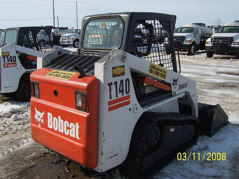 Bobcat T140 Compact Track Loader Service Repair Manual INSTANT DOWNLOAD - A3L711001-A3L719999, A3L811001-A3L819999