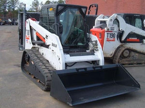 Bobcat T180 Compact Track Loader Service Repair Manual INSTANT DOWNLOAD - 524211001 & Above, 524311001 & Above, 527511001 & Above, 527611001 & Above