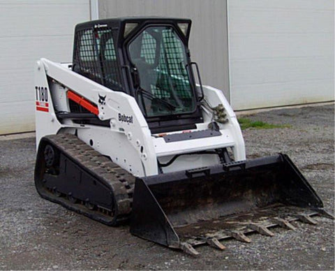 Bobcat T180 Compact Track Loader Service Repair Manual INSTANT DOWNLOAD - 531411001-531459999, 531511001-531559999