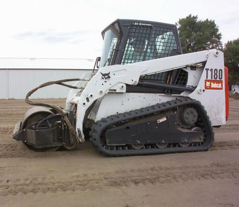 Bobcat T190 Compact Track Loader Service Repair Manual INSTANT DOWNLOAD - 519311001 & Above, 519411001 & Above