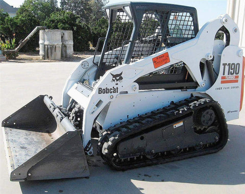 Bobcat T190 Compact Track Loader Service Repair Manual INSTANT DOWNLOAD - 527011001 & Above, 527911001 & Above, 527711001 & Above, 527811001 & Above