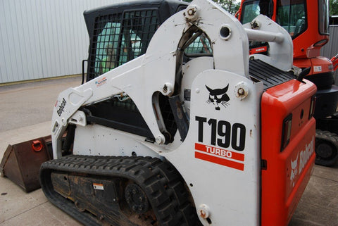 Bobcat T190 Compact Track Loader Service Repair Manual INSTANT DOWNLOAD - 531660001 & Above, 531760001 & Above