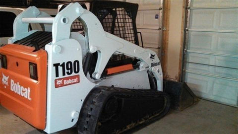 Bobcat T190 Compact Track Loader Service Repair Manual INSTANT DOWNLOAD - A3LN11001 & Above, A3LP11001 & Above