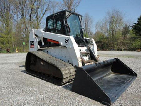 Bobcat T250 Compact Track Loader Service Repair Manual INSTANT DOWNLOAD - 523111001 & Above, 523011001 & Above