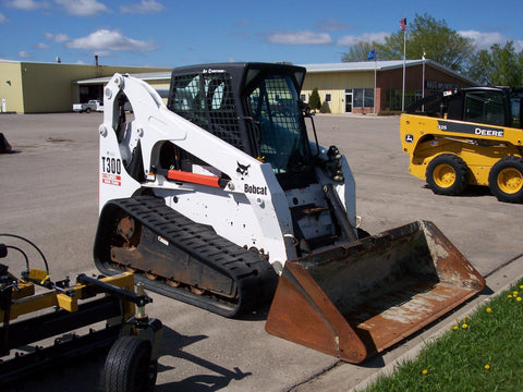 Bobcat T300 Compact Track Loader Service Repair Workshop Manual INSTANT DOWNLOAD (S/N 521911001 & Above, S/N 522011001 & Above )