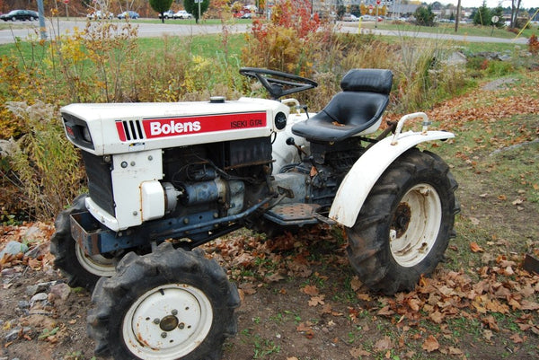 Bolens Iseki Tractor Master Repair Ops & Parts Manuals
